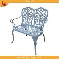 luxuriant in design decorative metal garden arch with bench