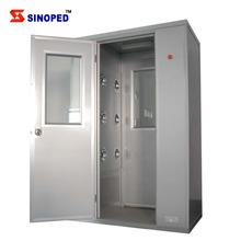 Clean Room Air Shower for Personnel and Cargo Goods / Modular Clean room Air Shower Clean Room