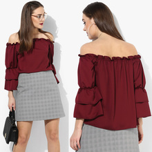 Woman Clothing Cheap Price Latest Fashion Top
