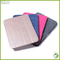 Flip leather laptop cover for samsung tab 3 P5200, tablet cover for samsung tab