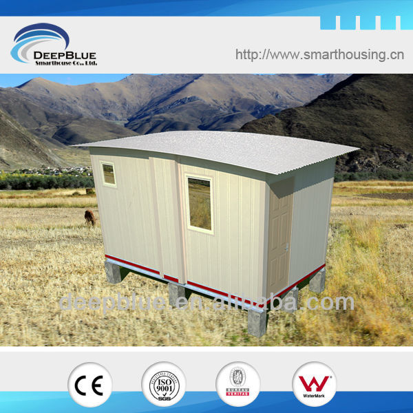 fully deployable within 10mins or less foldable house/refugee camp