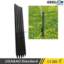Easily Assembled Factory 4in x 6ft 7ft 8ft 100% Recycled plastic ranch post/stake/fence/bollard