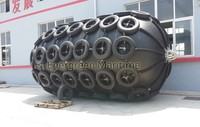 Diameter 2 x Length 3.5M ISO certificated high quality Evergreen-Maritme pneumatic rubber fenders