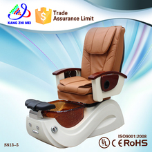 attractive and durable beauty sale salon furniture pedicure chair cover (KM-S813-5)