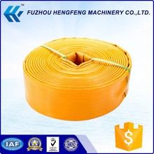Acid resistant 25-300mm lay flat irrigation hose pipe
