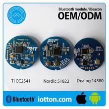 Customize firmware beacons and eddystone Customized iBeacons / ibeacon Bluetooth 4.0 module