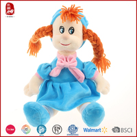 China Yangzhou plush toy factory cute cheap baby dolls