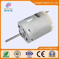 Good performance 12v dc gear motor specifications