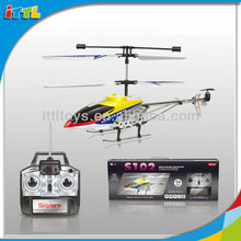A363290 3 Channel Remote Control Helicopter Alloy Metal RC Helicopter