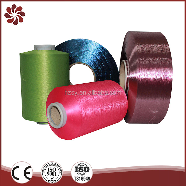 High Tenacity Microfiber Manufacturers Synthetic Dty Polyester Yarn