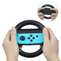 Compact Wear-resistant Racing Wheel (Set of 2) Wireless Game Controller For Nintendo Switch Joy-cons