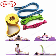Cheapest price natural rubber dance ballet exercise stretch bands