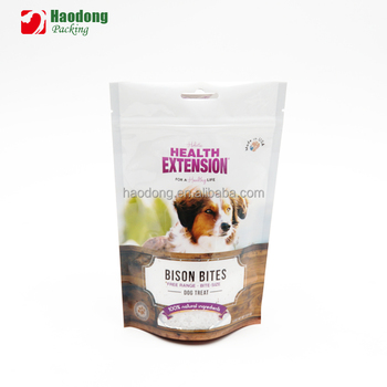 ISO Custom Factory Price Food Grade Pet Food Bag
