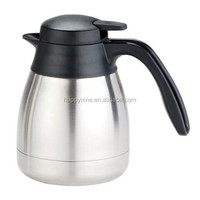 Fashion Stainless Steel 600ml Vacuum Coffee Pot and Water Pots