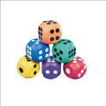 colorful toy dice rubber dice