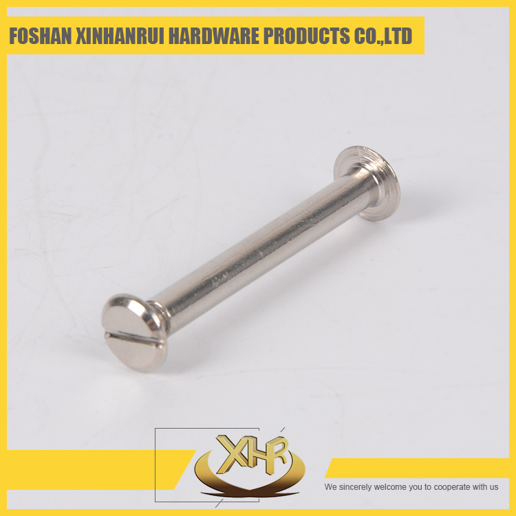 Decorative book binding screw for account book 40mm