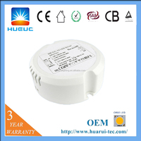 700mA constant current round dimmable led driver