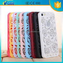 Cheap Custom rose Hard cell phone cover Case for iPhone 4 5 6
