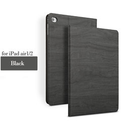 China High-end business Book Style tree texture Tablet PU Leather case for iPad air