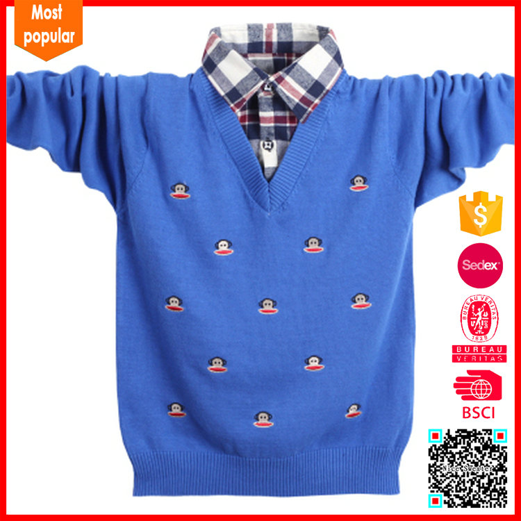 100%cotton 2017 new fashion design children cardigan for kids