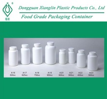 750ml Empty HDPE Plastic Supplement Bottle, Vitamin Container