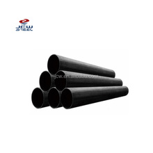 Schedule 40 80 Carbon Black ERW Steel Pipe Price Per Ton