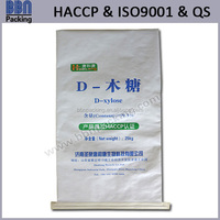 sewed bottom bopp laminated paper bag