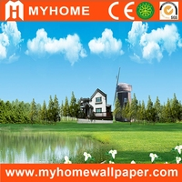 beautiful landscapes 3d effect wall mural photo wallpaper