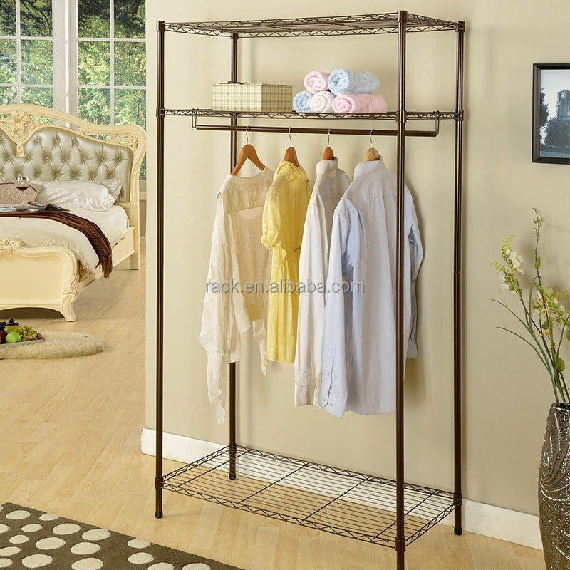Modern Furniture Corner Bedroom Wardrobe with Non-woven Cover