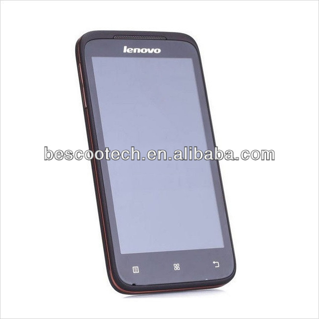 "4.5"" Android4.0 Lenovo A398T mobile phone IPS SC8825 Dual core Dual SIM phone Support WIFI 5.0MP camera The Cheapest Phone"