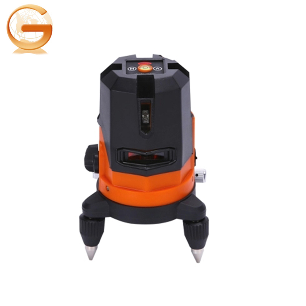 2018 New product Cheap High Accuracy Portable Five Red Beams Laser Level 5 Lines