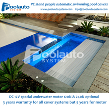 hard plastic PC electric swimming pool cover OEM/ODM supplier