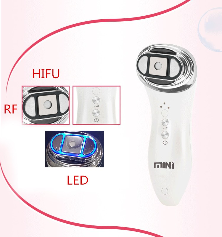Home Use Portable RF Anti-aging HIFU Machine