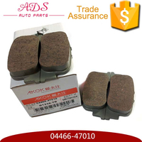 AKOK Internet provider fast production noiseless brake pads for Lifan 620 04466-47010