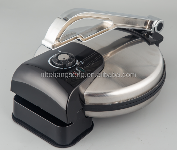 New design Aluminum press handle 10 inch automatic tortilla India Roti maker
