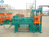 fully automatic color pavement brick making machine / road paving block machine madein China