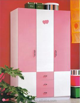 Bedroom Wall Wardrobe Design/pink Wardrobes