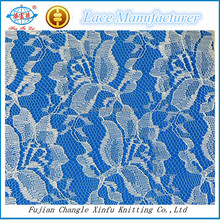 Wholesale Textile Fabric 100%polyester Lace for Dress Underwear