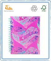 New Design Fancy A5 PP 3 Subject Note Book
