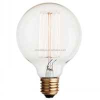 Globe vintage light edison bulbG125