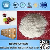 Pure Natural Resveratrol as health products