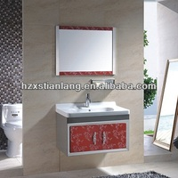 stainless steel modern bathroom cabinets