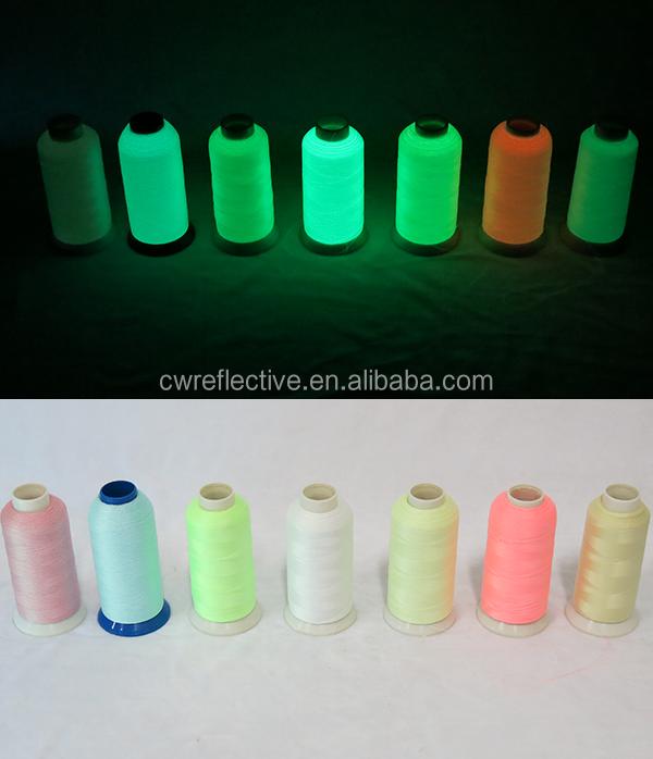 Luminous Embroidery Threadglow In The Dark Yarn100 Polyester