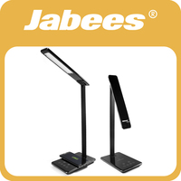 Jabees NEW 2016 Super Design Rechargeable Qi Wireless Mobile Charger Led Table Lamp Charger