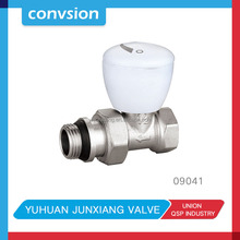 JUNXIANG Brass Thermostatic Radiator Valve with ABS Cap