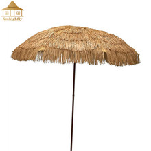 Factory wholesale cheap thatch roofing, fire resistant plastic thatch