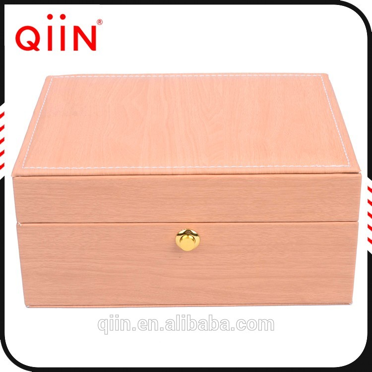 H608 New 2017 wood donation box Made in China watch boxes