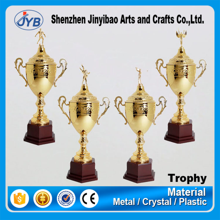 Event Use and Europe Regional Feature Wholesale Cheap Sports Trophies Metal Award Trophy for Football