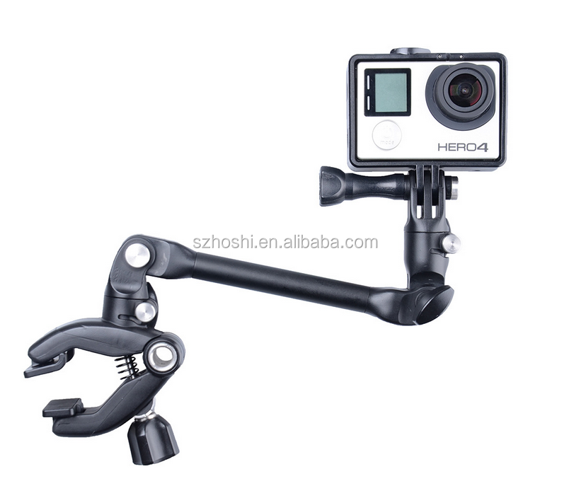 Adjustable Clip The Jam Instrument Band Guitar Music for Gopro Hero 5 4 3+ 3 2 Sjcam Xiaoyi Action Cameras
