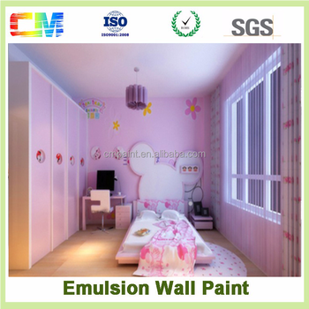 Acrylic latex paint house deco for interior wall paint in China